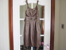 womens Jeff & Co satin dress, size 8