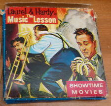 Laurel and Hardy The Music Lesson Showtime Movies super 8 rare