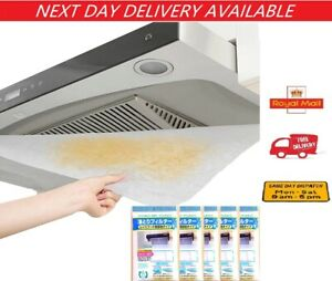 Cooker Hood Filter Extractor Fan Filter Paper Saturation Cut To Fit Size
