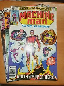 Marvel Comics Machine Man Bundle
