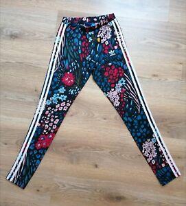 Adidas floral leggings xs