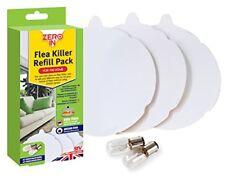 Zero In Flea Killer  3 Refill Discs and 2 Spare Lamps  - Refill Pack