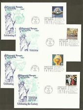 #3189 a-o Celebrate the Century 1970s Set of 15 different Artmaster FDCs