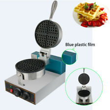 Electric Egg Cake Oven Puff Bread Maker Stainless Steel Waffle Bake Machine 2019