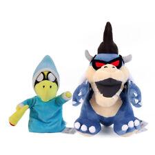 2PCS Super Mario Bros Magikoopa and Dark Koopa Bowser Plush Doll Stuffed Toy