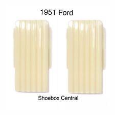 1951 Ford Passenger Car Dome Lenses NEW PAIR