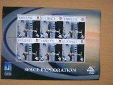KIRIBATI,2009 SPACE EXPLORATION,SPACE STATION,50C VALUE, SHEETLET OF 6.CAT £7.