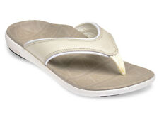 Spenco Total Support Sandal Yumi Tribal Elite Oyster Grey  Sz. 6 Women