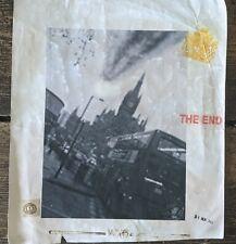 "Stot21stcplanb ""meteorite destroys Kings Cross"" London the end, psychic print."
