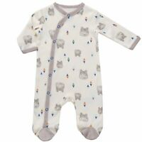 Asher & Olivia Footed Pajamas for Boys Baby Sleepers Side Snap Footies Pjs