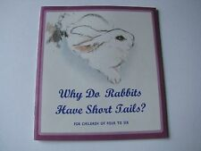 1981 1st Edition Why Do Rabbits Have Short Tails? Vtg Chinese English Book China