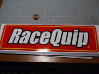 RACE QUIP GLOSSY Sticker/Decal  Automotive  ORIGINAL NOS PERFORMANCE