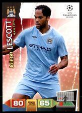 Panini Champions League 2011-2012 Adrenalyn XL Joleon Lescott Manchester City