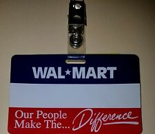 Walmart Name Badge - Vintage and (Personalized) W/ Your Name