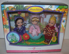 Barbie Collector Pink Label Wizard of Oz Munchkins Kelly Tommy Dolls 2006 NEW