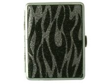 Women Fashion Cigarette Case with metal clips inside for 16 cigarettes.