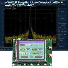 ADF4351 RF Sweep Signal Source Generator Module 35M-4.4G+STM32 TFT LCD HighQ