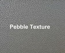 Motorcycle seat cover vinyl, pebble texture. High Quality Black Vinyl.