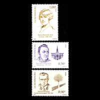 Luxembourg 2005 - Famous People - Sc 1169/71 MNH