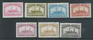 SPAIN SHIPS SERVICE DE POSTES MINT HINGED LOCAL ISSUES NICE!