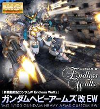 BANDAI Premium MG 1/100 Gundam Heavy ARMS CUSTOM EW Plastic Model Kit