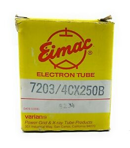 Eimac 7203/4CX250B Electron Tube SN.9234