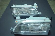 Toyota Corolla E100 AE100 AE101 EE100 EE101 Sedan Headlight Lamp Pairs CE DX LE