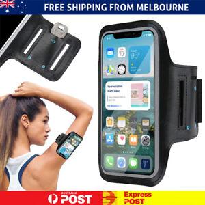 Sports Armband Phone Holder Arm Band Jogging Exercise Gym Running iPhone Samsung