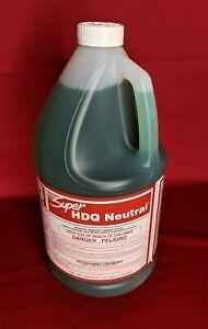 Spartan Super HDQ Neutral Detergent Deodorant Disinfectant 1 Gallon Cleaner