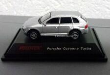 **Vollmer 1615 H0 Porsche Cayenne Turbo, silber, Fertigmodell, Neu, OVP**