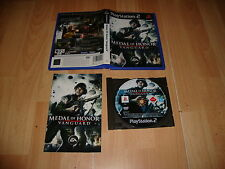 MEDAL OF HONOR VANGUARD DE EA GAMES PARA SONY PLAY STATION2  PS2 USADO COMPLETO