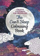 The Can't Sleep Colouring Book with Derwent Academy Colouring Pencils Tin (Set o