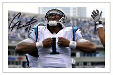 CAM NEWTON CAROLINA PANTHERS SIGNED PHOTO AUTOGRAPH PRINT NFL FOOTBALL