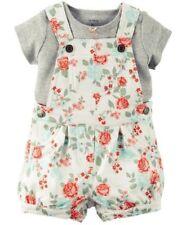 Carter's set 50/56 Baquero + camiseta Baby pantalones verano pantalones us size Newborn Flores