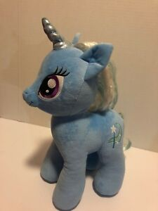 "Build A Bear My Little Pony Trixie Lulamoon blue unicorn plush toy 16"" 2014"