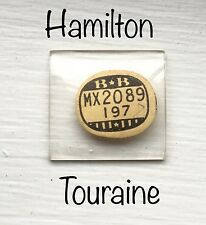 NOS Vintage Hamilton 1940s 14K Gold Touraine Watch Glass Crystal Antique