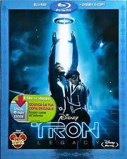 Tron Blu-Ray + Disney E-Copy Dvd Sigillato