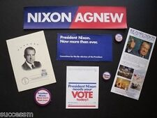 Collection 8 Different Richard Nixon Memorabilia Items