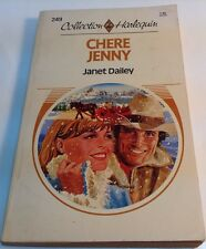 Book in french: CHERE JENNY, JANET DAILEY  livre 249 Collection Harlequin