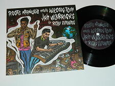 "ROOTS MANUVA Meets WRONGTOM - Jah Warriors / 2010 Big Dada Rec. UK / 7"" Single"