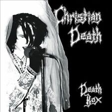 Death Box Christian Death (5 CD's 1 DVD) Rozz Williams Eva O Death Rock Goth