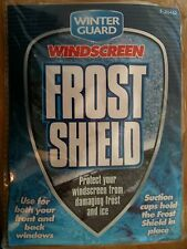 SNOW + ANTI FROST CAR WINDSCREEN SHIELD PROTECT FROM ICE FROST & SNOW EASILY