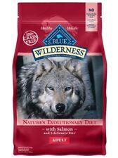 BLUE BUFFALO WILDERNESS SALMON RECIPE ADULT DOG FOOD DRY 4.5#