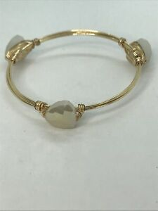 Bourbon And Bowties Inspired Bracelet gold tone