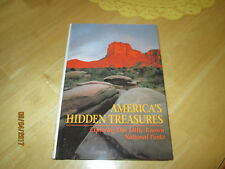 NATIONAL GEOGRAPHIC AMERICA'S HIDDEN TREASURES ILLUSTRATED HARDCOVER