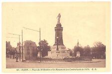 CPSM PF 21 - DIJON (Côte d'Or) - 42. Place du 30 octobre et le Monument