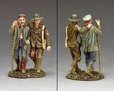"""King and Country WW1 """"Back from the Front"""" militaire FW187 (réduit à clair)"""