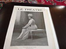 Le Theatre 1912 Theatre De La Scala Princesses Dollar Alice Mlle O'Brien
