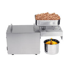 Hot Cold Automatic Oil Press Machine Nut Seed Oil Presser For Household 110V