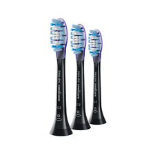 3x Philips Sonicare DiamondClean G3 Gum Care Brush Heads | Black | w/o Box